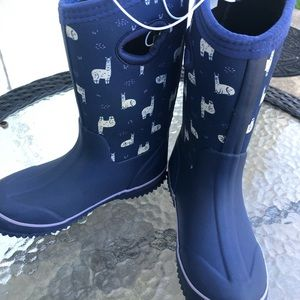 Cat & Jack Girls Polly Neoprene rain boots
